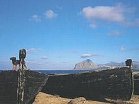 Bonagia. Le barche della Tonnara