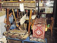 Erice. Produzione di tappeti