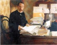Ritratto di Nunzio Nasi  Olio su tela Giacomo Balla,1902 ca.