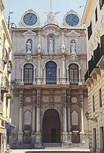 Trapani. Palazzo Cavarretta